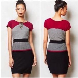 Sparrow Serena sweater dress L black multicolor